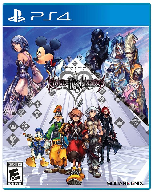 Jogo PS4 - Kingdom Hearts HD 2.8