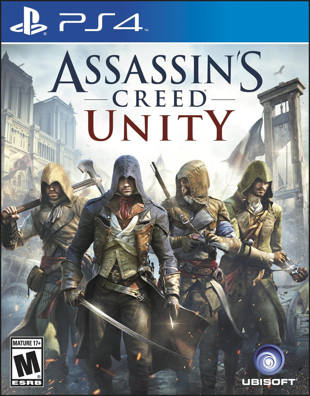 PS4 - Assassin's Creed: Unity (USADO)