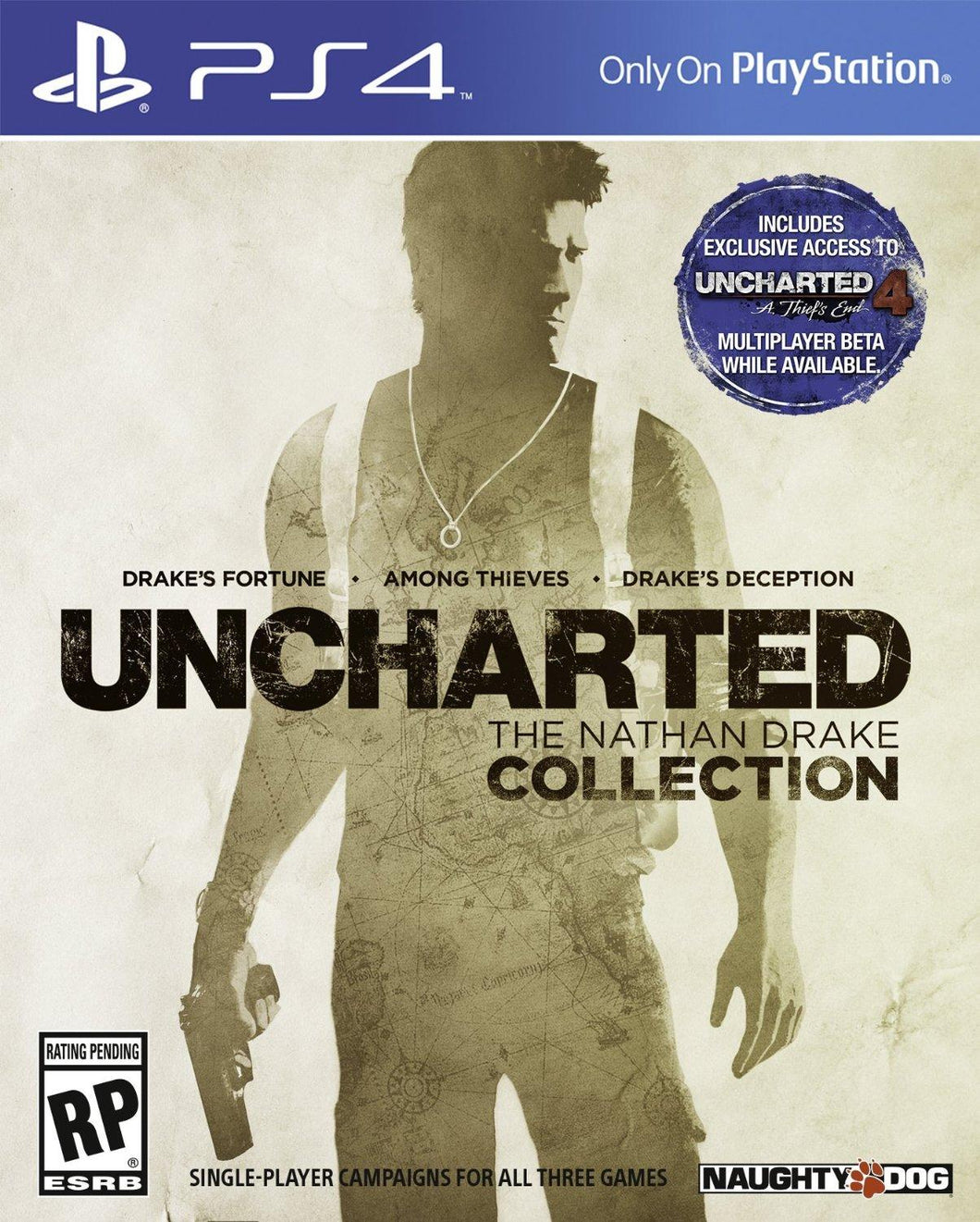 Jogo PS4 - Uncharted The Nathan Drake Collection