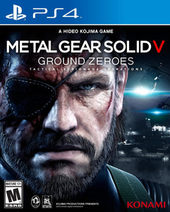 PS4 - Metal Gear Solid V: Ground Zeroes (USADO)