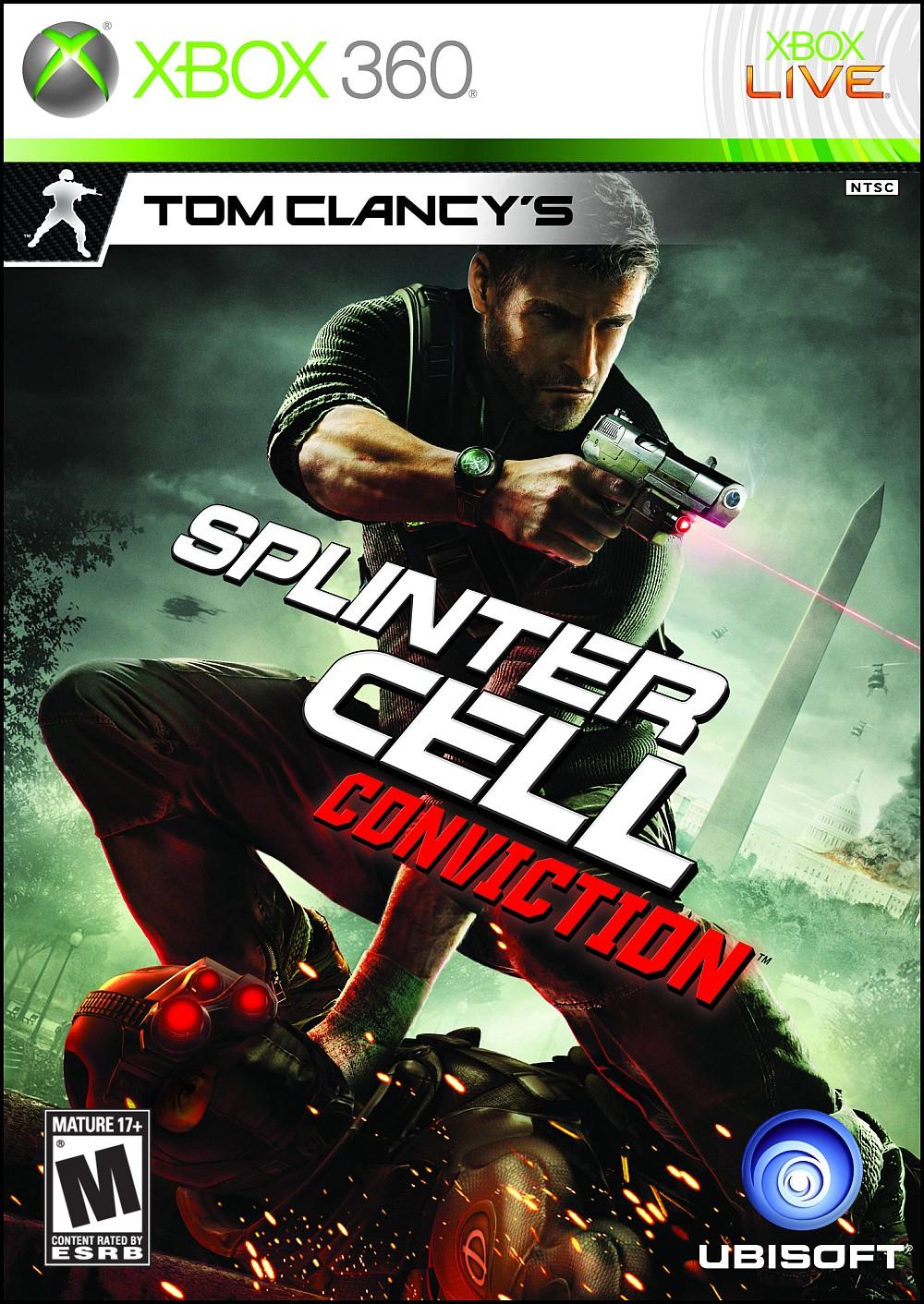 Xbox 360 - Tom Clancys Splinter Cell Conviction (USADO)