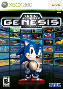 Xbox 360 - Sonic's Ultimate Genesis Collection (USADO)