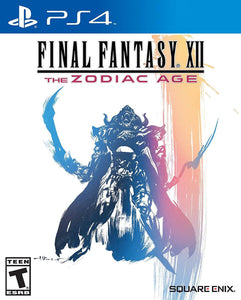 Jogo PS4 - Final Fantasy XII - The Zodiac Age
