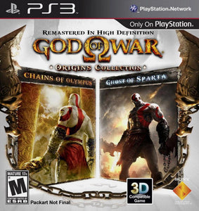 Jogo PS3 - God of War Origins Collection (Usado)
