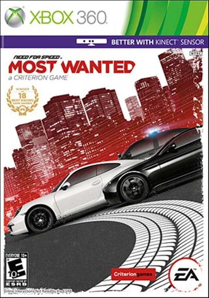 Xbox 360 - Need For Speed Most Wanted (Usado)