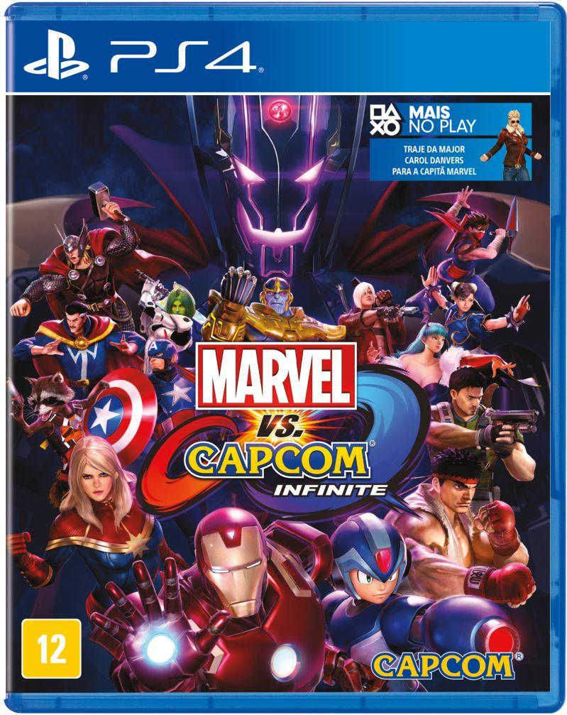 Jogo PS4 - Marvel vs. Capcom: Infinite