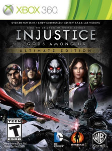 Xbox 360 - Injustice - Gods Amoung Us Ultimate Edition (USADO)