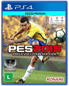 PS4 - Pro Evolution Soccer 2018 (USADO)