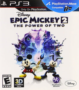 Jogo PS3 - Epic Mickey 2: Power of Two (USADO)