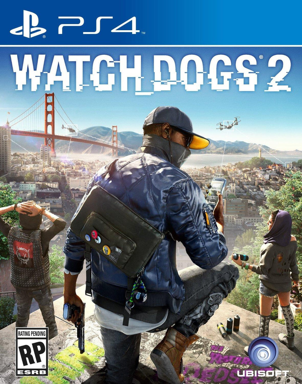 PS4 - Watch Dogs 2 (USADO)