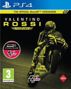 PS4 - Valentino Rossi The Game (USADO)