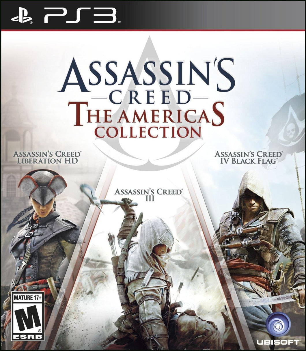 Jogo PS3 - Assassin's Creed: The America's Collection (USADO)
