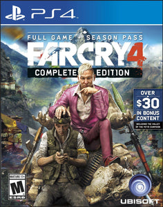 Jogo PS4 - Far Cry 4: Complete Edition