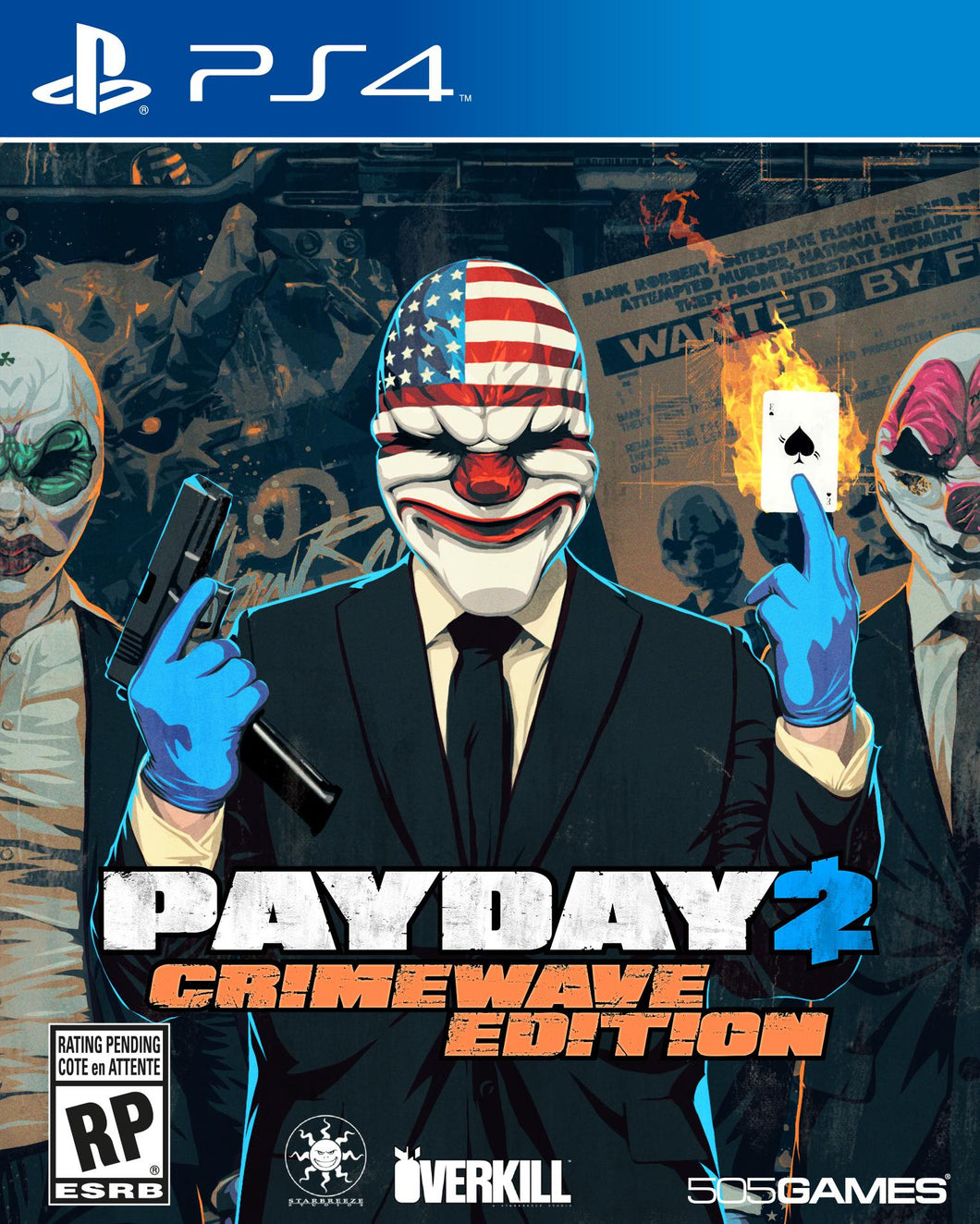 Jogo PS4 - Payday 2: Crimewave Edition