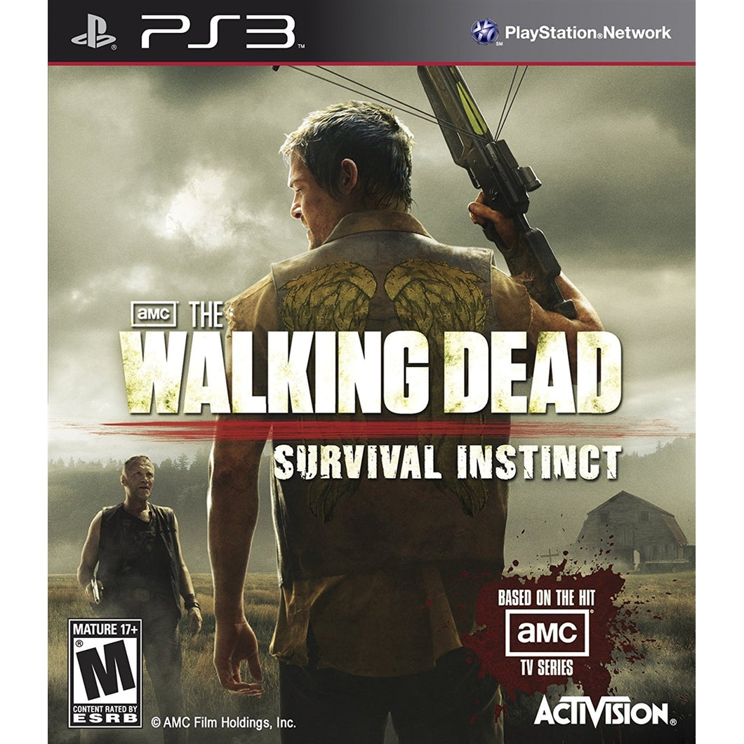 Jogo PS3 - AMC The walking Dead: Survival Instinct (USADO)