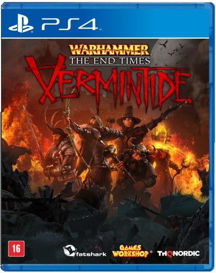 PS4 - Warhammer: The End Times - Vermintide (USADO)
