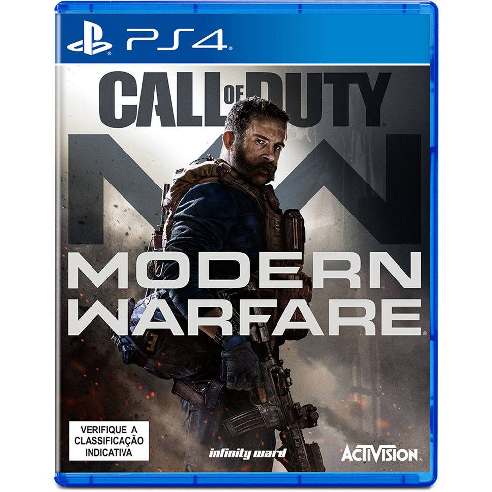 Jogo PS4 - Call of Duty: Modern Warfare