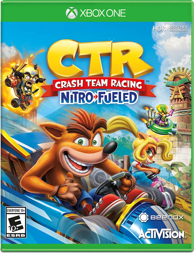 Jogo Xbox One - CTR Crash Team Racing - Nitro Fueled