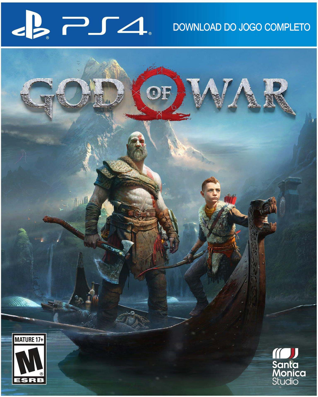 Jogo PS4 - God of War (DIGITAL oficial da SONY)