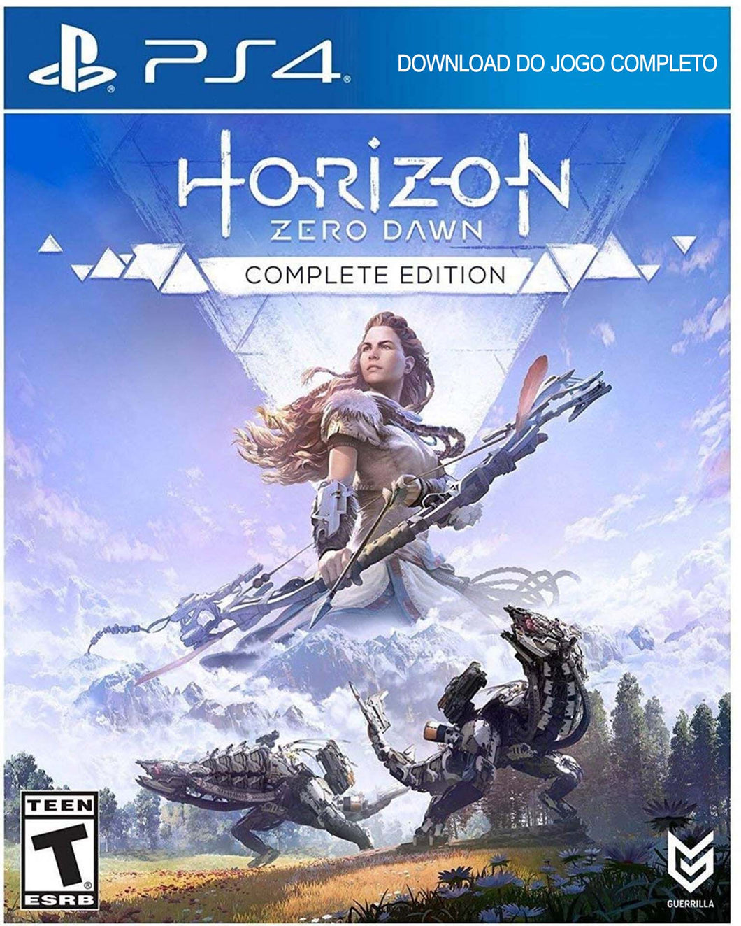 Jogo PS4 - Horizon: Zero Dawn Complete Edition (DIGITAL oficial da SONY)