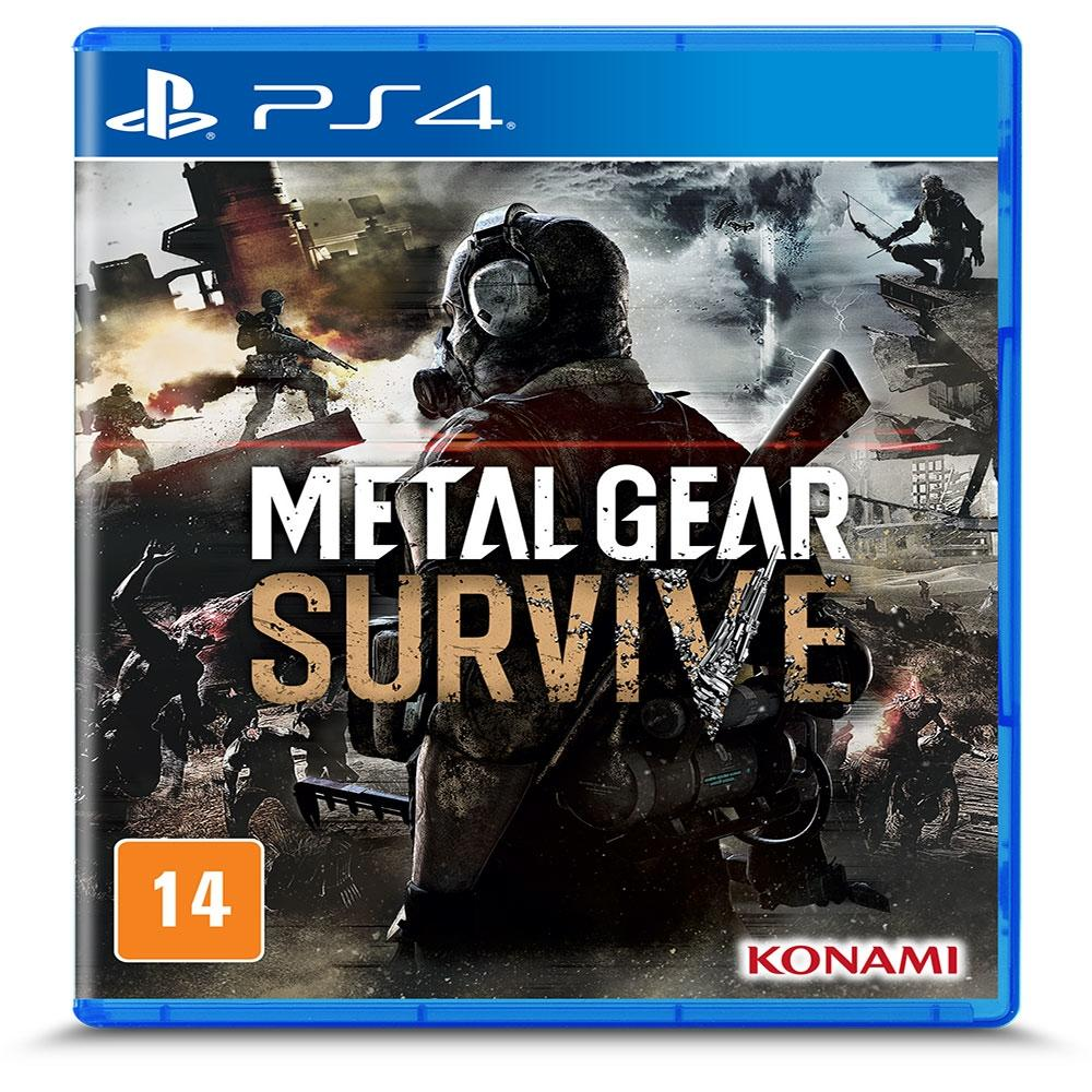 Jogo PS4 - Metal Gear Survive