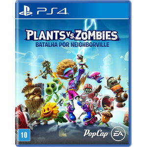 Jogo PS4 - Plants Vs Zombies: Batalha por Neighborville
