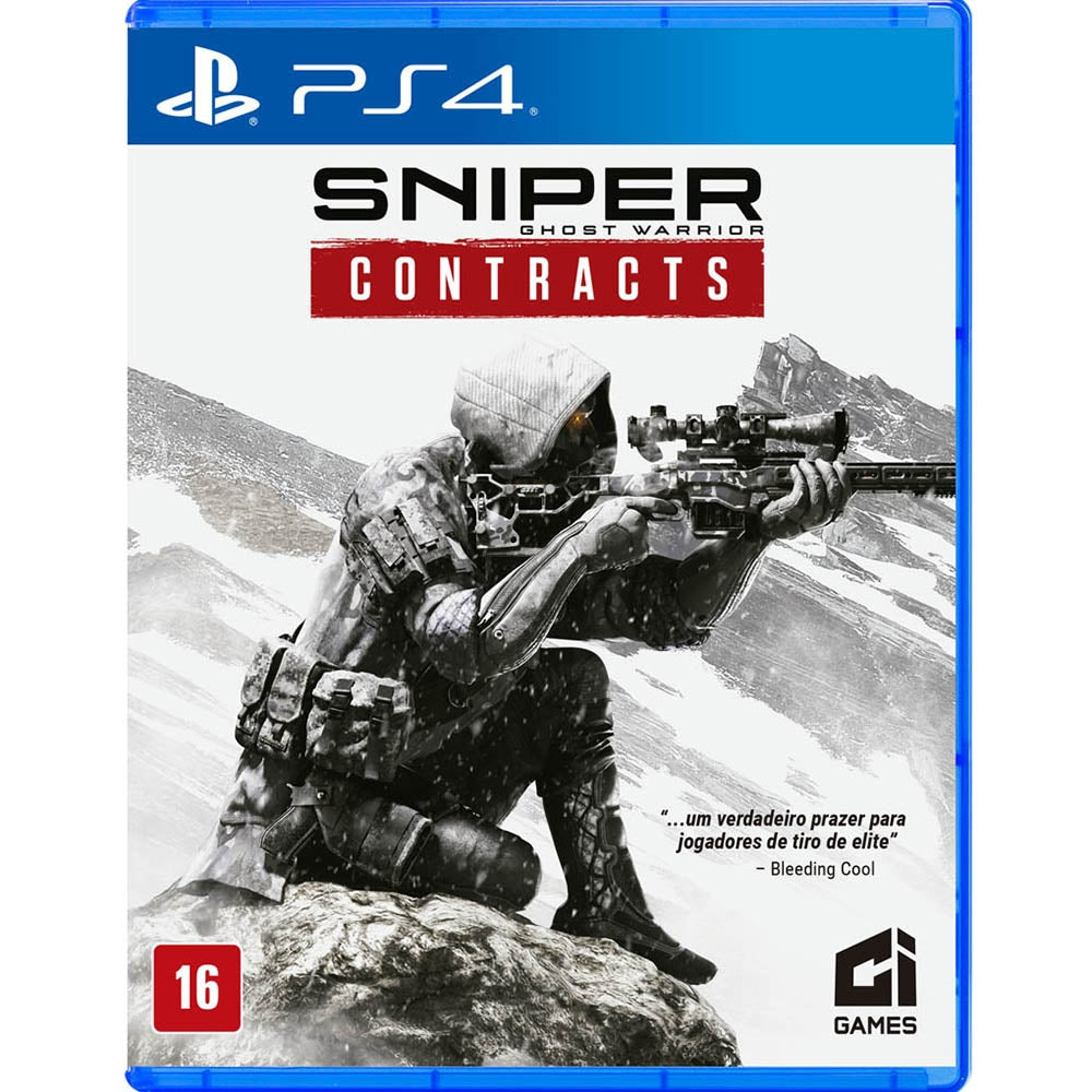 Jogo PS4 - Sniper: Ghost Warrior Contracts