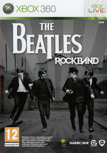 Xbox 360 - The Beatles Rock Band (USADO)