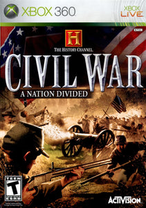 Xbox 360 - History Channel - Civil War: A Nation Divided (USADO)