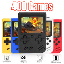 Load image into Gallery viewer, ALLOYSEED Retro Video Game Console 3 inch Color Screen Mini Pocket Handheld Game Player Built-in 400 Classic Games For Kids Gift - ColourMyLife
