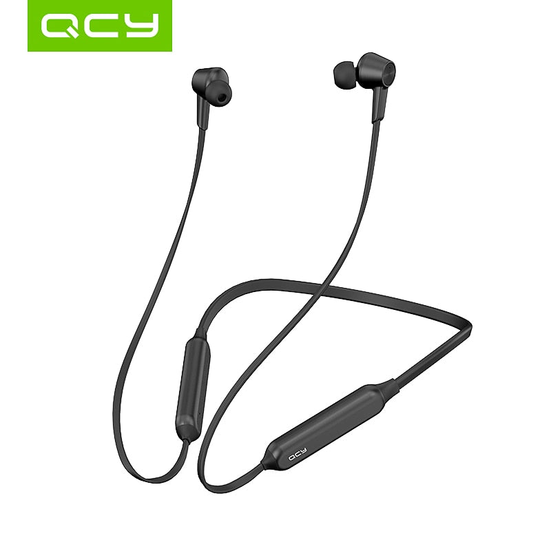 QCY L2 Wireless Headphones IPX5 Waterproof ANC Noise cancelling Wireless Earphones Bluetooth 5.0 Sport Headphones with Mic - ColourMyLife