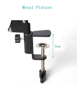 Photography Phone Clip Bracket+Suspension Arm Stand Clip Holder and Table Mounting Clamp Pop Kits for Live Show Shooting Video - ColourMyLife