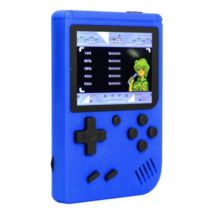ALLOYSEED Retro Video Game Console 3 inch Color Screen Mini Pocket Handheld Game Player Built-in 400 Classic Games For Kids Gift - ColourMyLife