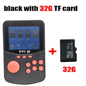 With 512M2G TF Card Retro Handheld Video Games Console For NES\SNES\MAME\MD\GBA 16 Bit Arcade Game Players 10000 Games TV Out - ColourMyLife