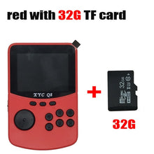 Load image into Gallery viewer, With 512M2G TF Card Retro Handheld Video Games Console For NES\SNES\MAME\MD\GBA 16 Bit Arcade Game Players 10000 Games TV Out - ColourMyLife