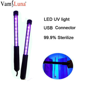 LED UV disinfection Lamp for Bactericidal Ultraviolet light UVC Germicidal Sterilization Lamp kill  Bacteria Germs Mites - ColourMyLife