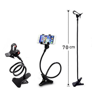 Flexible Phone Holder Long Arm Lazy Gooseneck Stand Support Smartphone Tablet Bracket in Car Home Bed Clip For Xiaomi 8 Redmi 2 - ColourMyLife