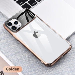KUULAA For iPhone 11 Pro Max Case Luxury Mirror Glass Phone Case i Phone 11 ProMax Shockproof Back Cover For iPhone 11Pro Max - ColourMyLife