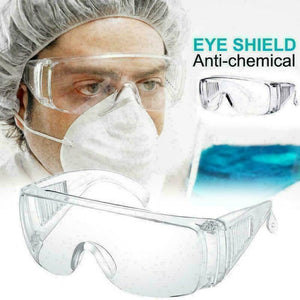 Medical Mask/Anti Dust Protective Goggles/Lab Eyes Goggles/Clear Safety Glasses - ColourMyLife