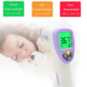 Digital Termomete Baby Adult Infrared Forehead Body Thermometer Gun Non-contact Temperature Measurement Device - ColourMyLife