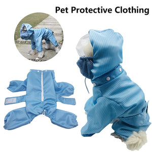 Pet Dog Protective Clothing Detachable Adjustable Isolation Clothes Anti Dust And Harmful Particles Droplets - ColourMyLife