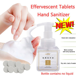 Effervescent Tablets Hand Sanitizer Foam Type Super Clean Power Strong Disinfect Kill Bacterial Disinfection Clean Hand Soap - ColourMyLife