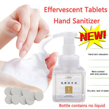 Load image into Gallery viewer, Effervescent Tablets Hand Sanitizer Foam Type Super Clean Power Strong Disinfect Kill Bacterial Disinfection Clean Hand Soap - ColourMyLife