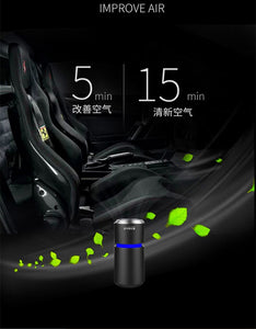 Free shipping mini car air purifier against virus remove Formaldehyde air cleaner - ColourMyLife
