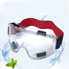 Load image into Gallery viewer, Ergonomic Protective Glasses Anti Fog Riding Working Mining Eye PVC Windproof Safety Goggles Eyewear Clear Protection