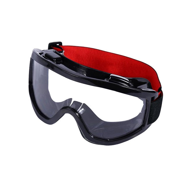Ergonomic Protective Glasses Anti Fog Riding Working Mining Eye PVC Windproof Safety Goggles Eyewear Clear Protection