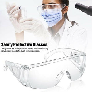 Safety Goggles Plastic Glasses Anti-Chemical Safety Protective Glasses Anti-Spitting Splash Glasses For Personal Protection