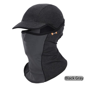 Outdoor Sport Hiking Visor Ice Silk Sun Hat Cycling Mask Head Scarf Quick-drying UV Protection Face Neck Cover Breathable Mask