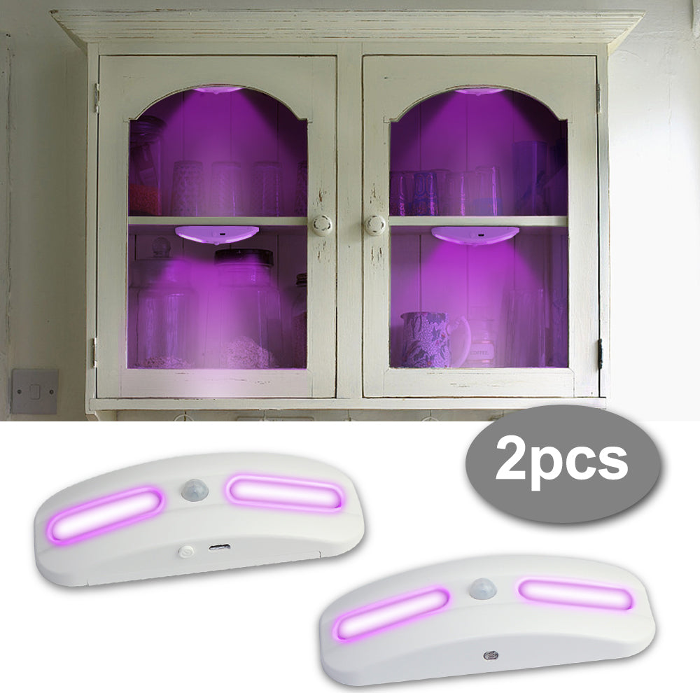 UV Sterilizer Lamp Disinfection Lamp Motion Detection 3 Mode LED Night Lamp Bulb for Kitchen Bathroom Toilet