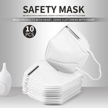 Load image into Gallery viewer, 10pcs/5PCS KN95 Facemask 95% Filtration Adults Kn95 Face Mask Anti-Dust PM2.5 Fog 3 Filter Safety Protective